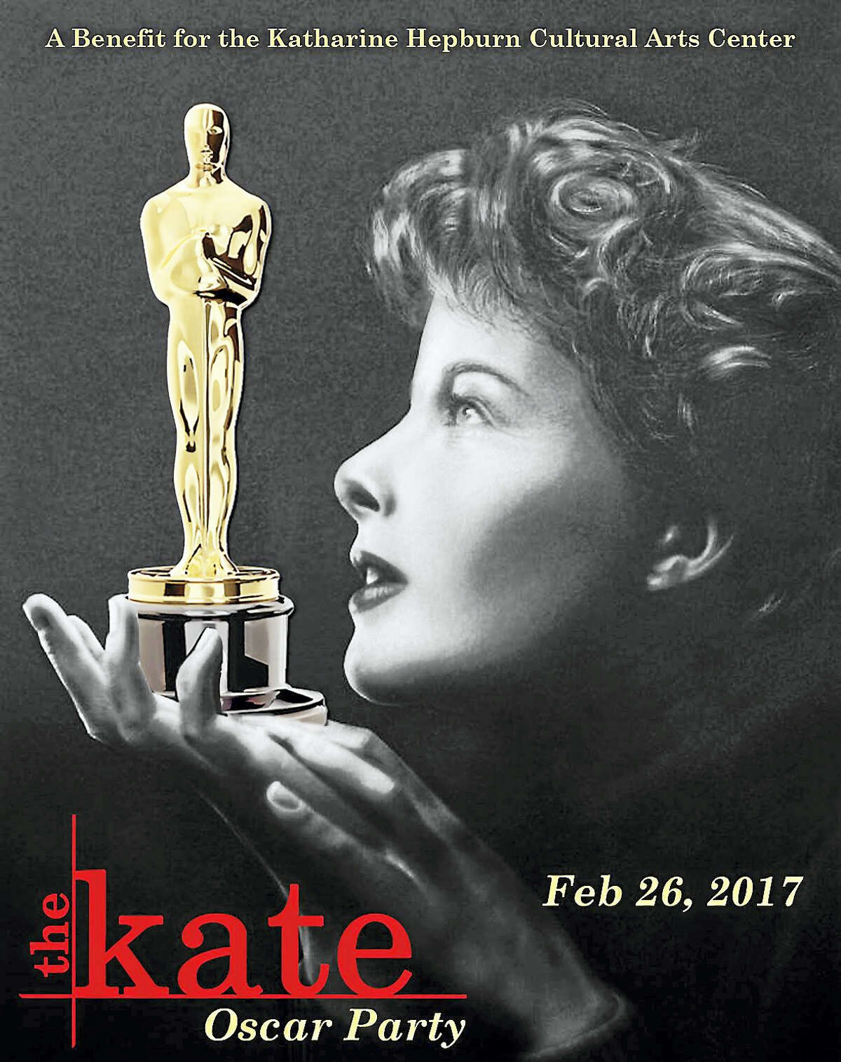 Contributed photoThe Kate will host a fundraiser Oscar party in Old Saybrook.
