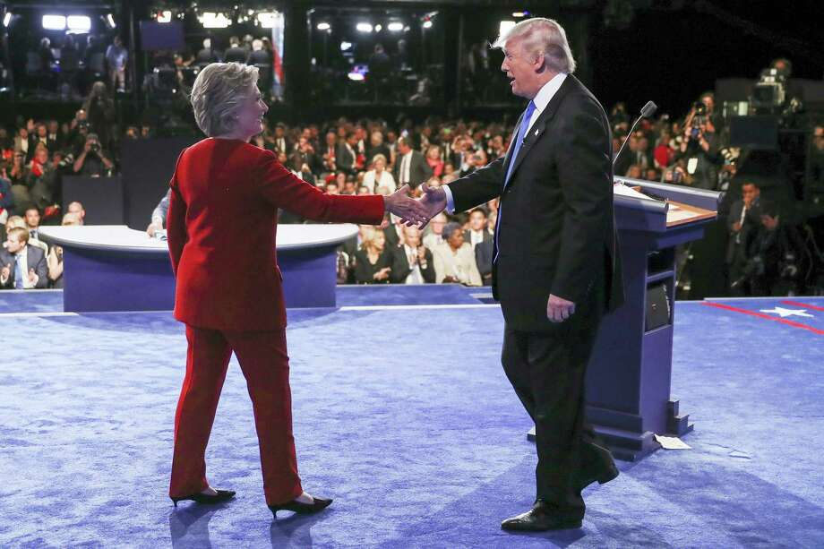 Hillary Clinton and President Donald J. Trump Photo: File Photo  / Getty Pool