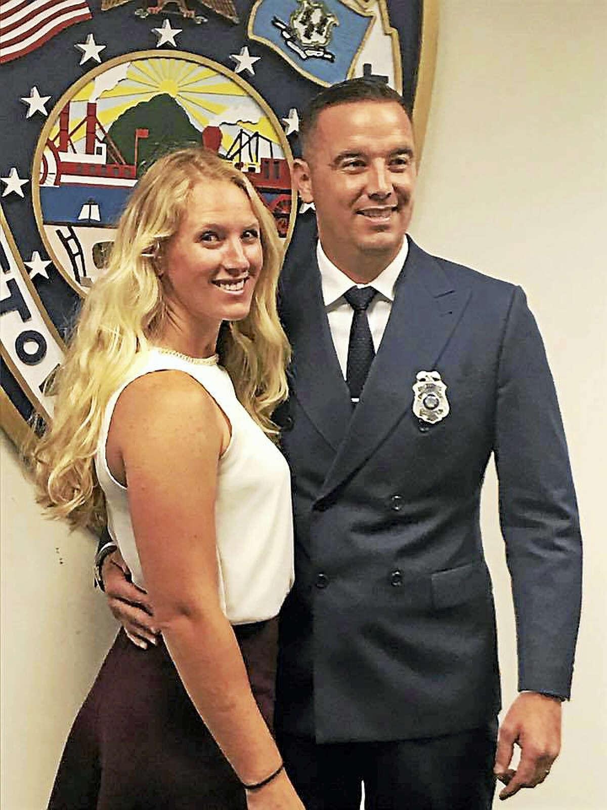 Jared Ceccolini and his wife Gabbriel