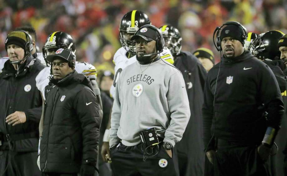 Steelers head coach Mike Tomlin. Photo: Charlie Riedel — The Associated Press  / Copyright 2017 The Associated Press. All rights reserved.