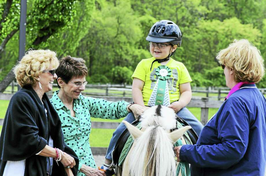 High Hopes Therapeutic Riding in Old Lyme will celebrate its students' achievements May 20-26. Photo: Contributed Photo  / Michael Fanelli