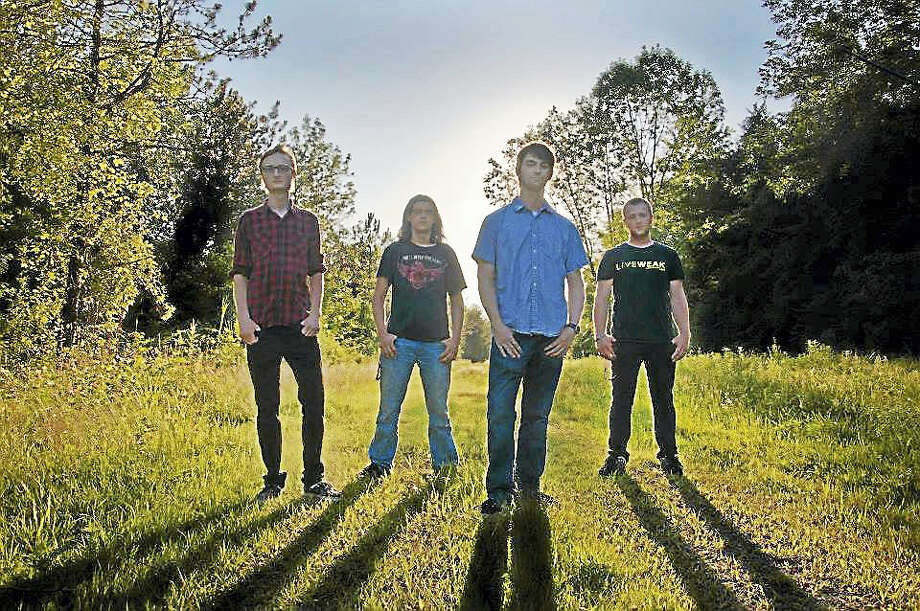The Middletown-based rock band, Auburn Row, has released a new EP. Photo: Contributed Photo