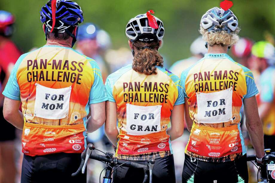 On Aug. 5-6, seven riders from the Middletown area will cycle up to 192 miles in the Pan-Mass Challenge (PMC) with the goal of raising $48 million for critical research and cancer care at Dana-Farber Cancer Institute. Local riders include Robert Benzinger of Cromwell, Shannon Keane of Killingworth, Mike Quincy and Daniel Welling of Marlborough, Scott Esposito and Scott Rosenthal of Middletown, and Peter Lord of Portland. To make a financial contribution to a rider from your town or become a virtual rider, visit www.pmc.org, or call 800-WE-CYCLE. Photo: Digital First Media