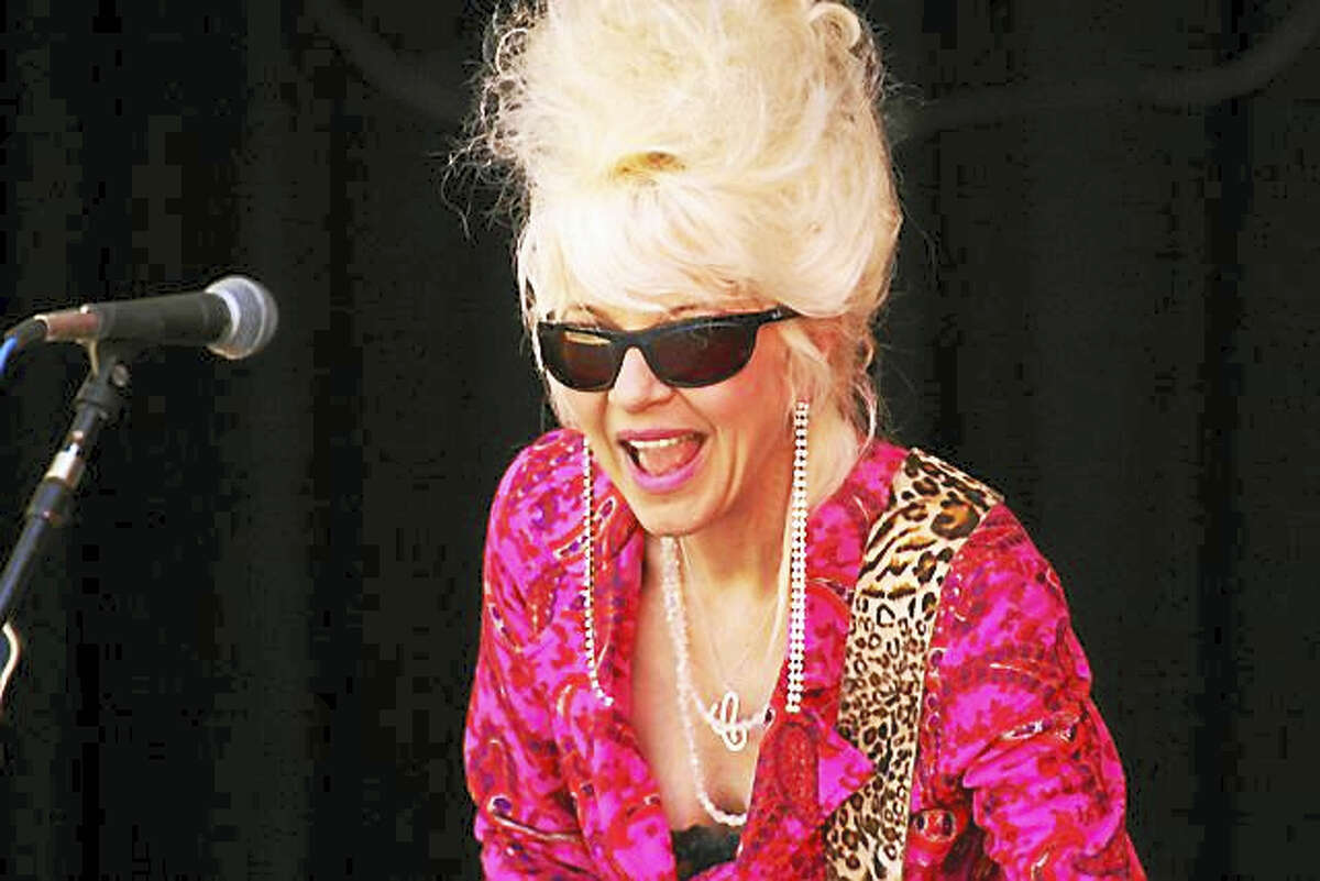 Photo by Dom ForcellaChristine Ohlman, aka the Beehive Queen, and Rebel Montez will perform at the Katharine Hepburn Cultural Arts Center, on Sunday.
