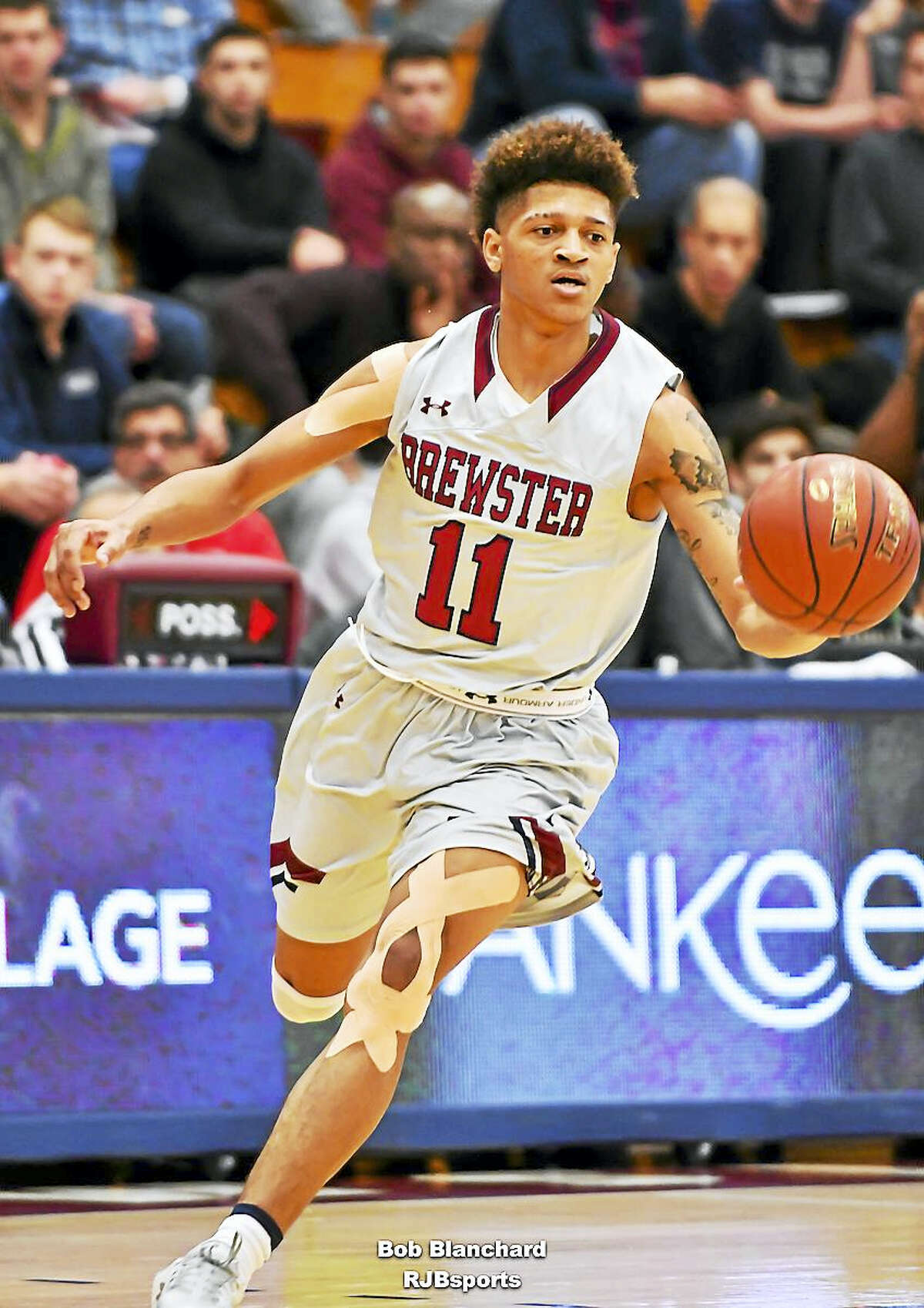 UConn commit Makai Ashton-Langford draws comparisons to current Husky Jalen Adams, but he's his own player.
