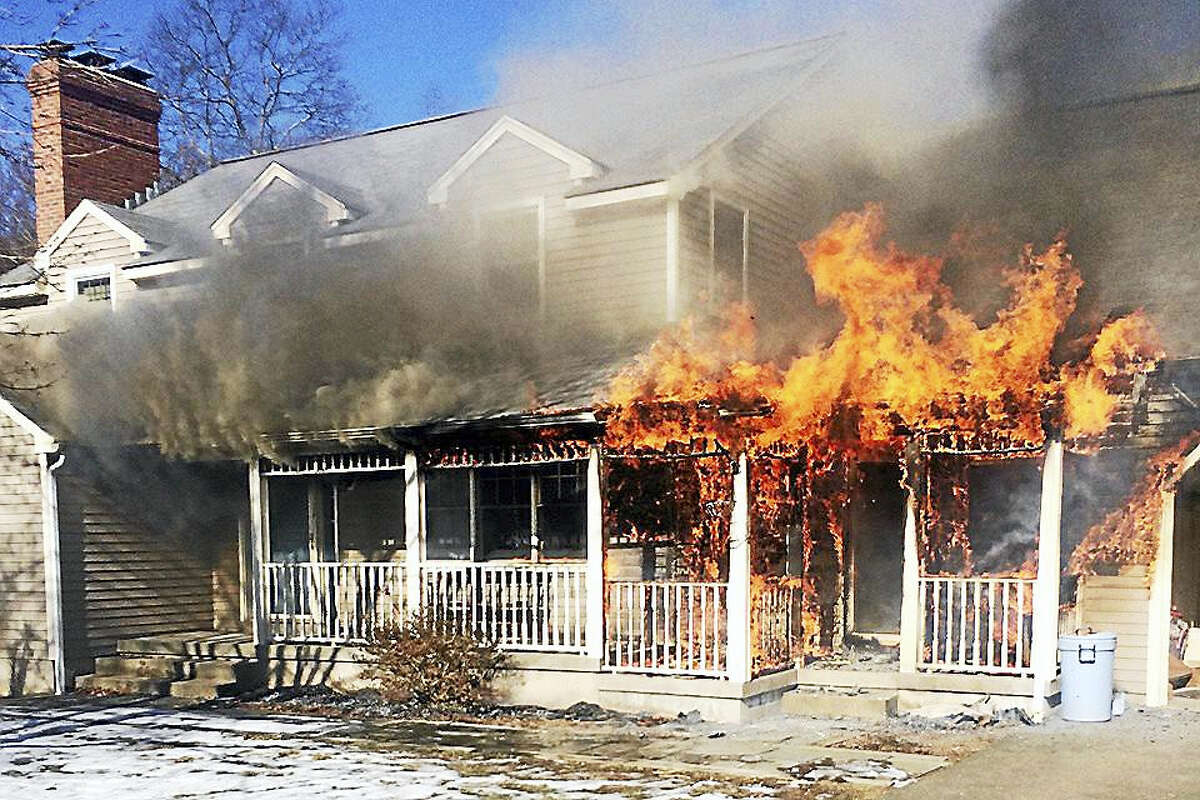 The fire on Country Walk is believed to be caused from a heater being too close to combustible material, according to a fire department spokesperson.