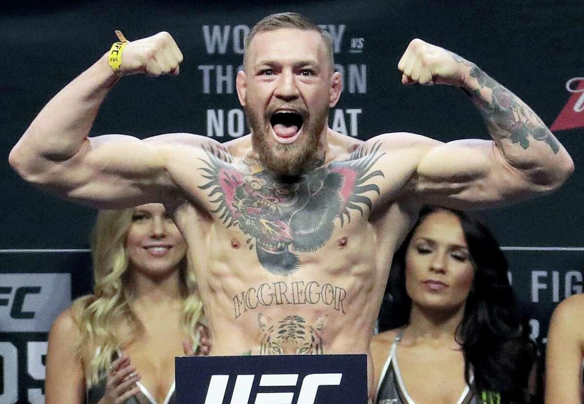 UFC start Conor McGregor.