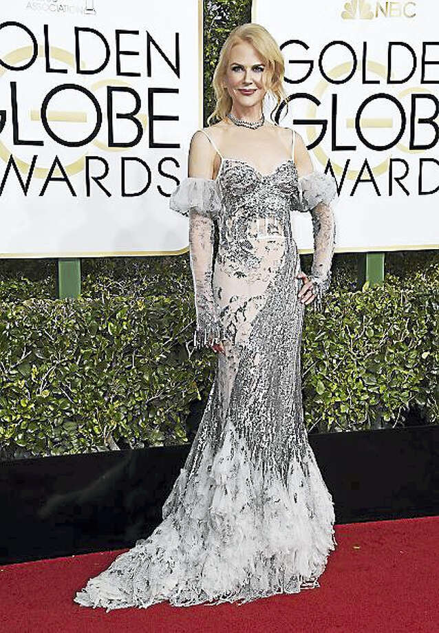 Nicole Kidman arrives at the 74th annual Golden Globe Awards at the Beverly Hilton Hotel on Sunday, Jan. 8, 2017, in Beverly Hills, Calif. Photo: Photo By Jordan Strauss/Invision/AP