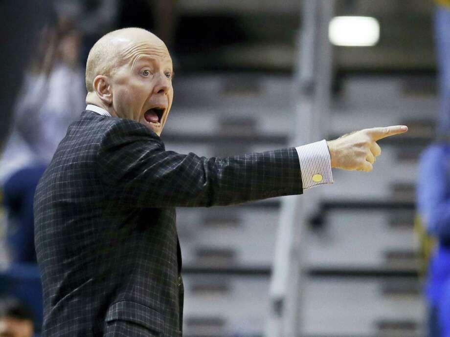 Cincinnati men's basketball coach Mick Cronin. Photo: The Associated Press File Photo  / AP2017