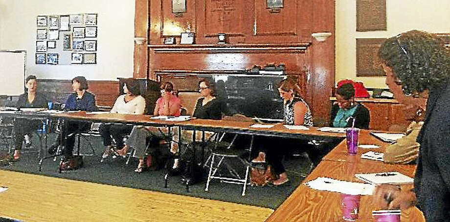 The Middlesex Coalition on Housing and Homelessness and Middlesex Coalition for Children met to talk about Middletown's homeless population in 2014. Photo: File Photo