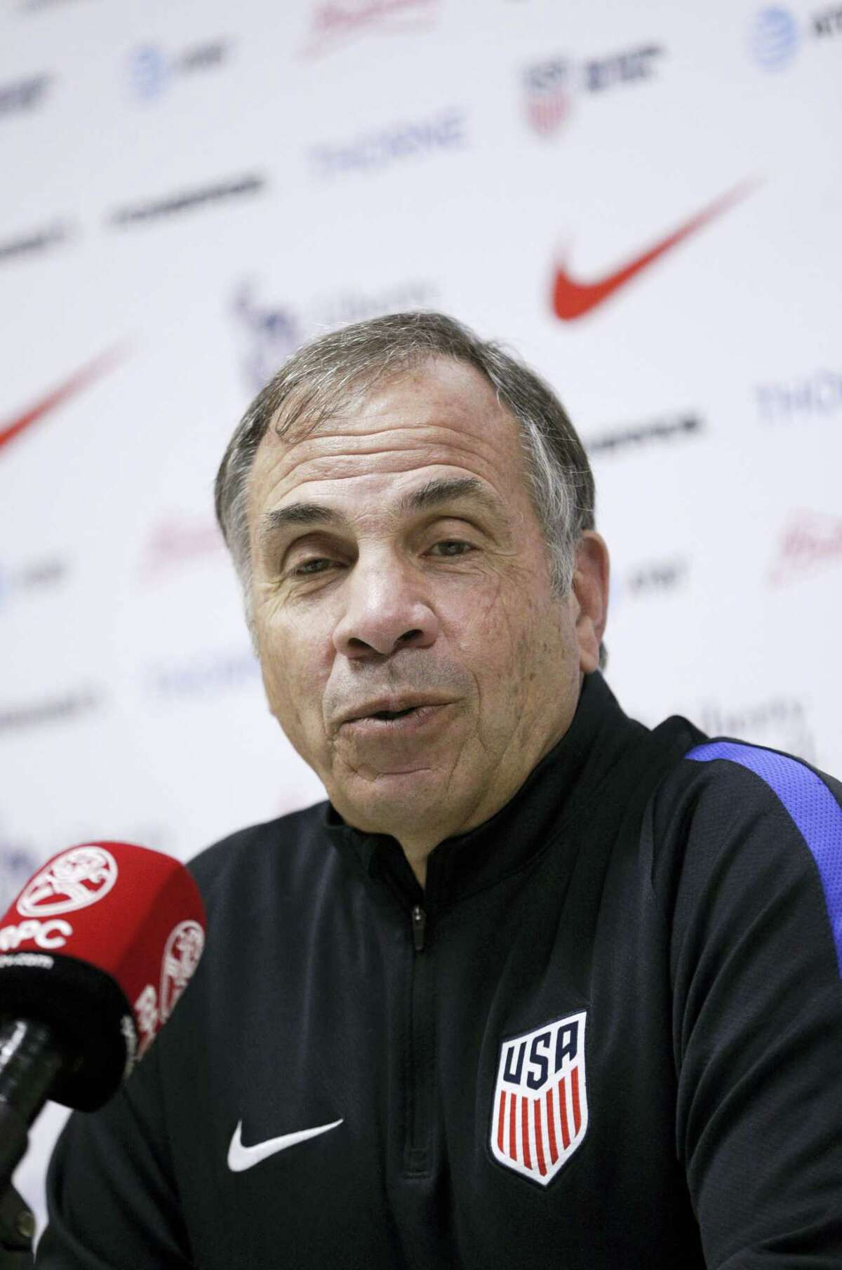 United States soccer head coach Bruce Arena.