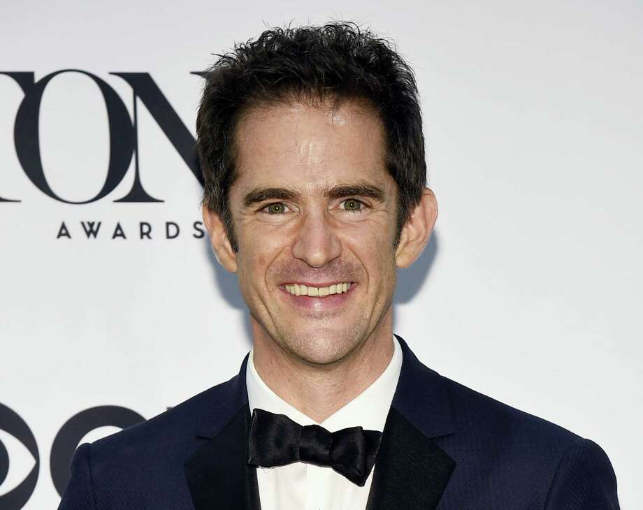 "In this June 12, 2016 photo, Andy Blankenbuehler, winner of the award for best choreography for ""Hamilton"" poses in the press room at the Tony Awards in New York. Blankenbuehler is directing the new musical ""Bandstand."" Photo: Photo By Charles Sykes — Invision/AP, File  / Invision"