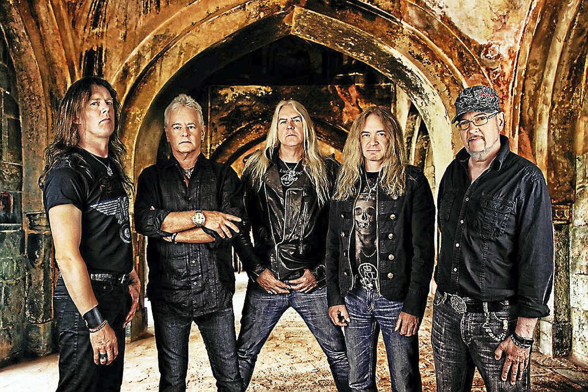 UFO and Saxon will play the Webster Theatre in Hartford on Sept. 30.