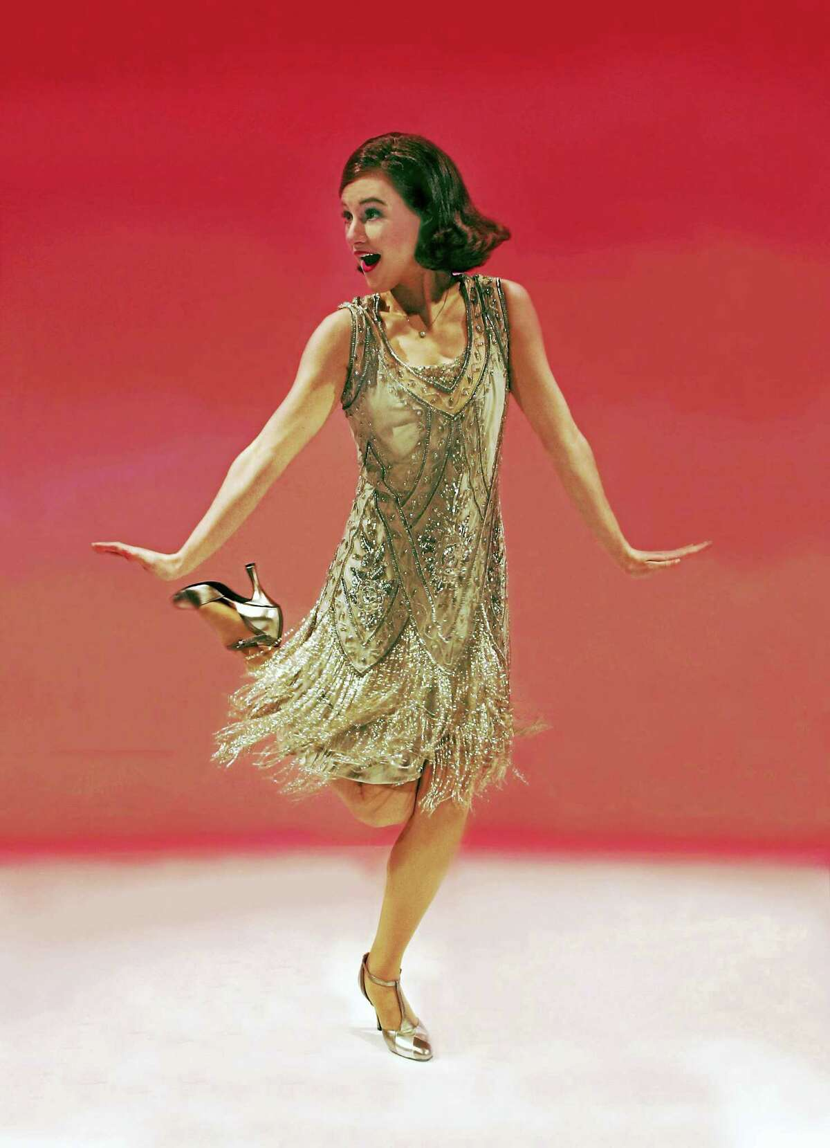 """Taylor Quick plays the role of Mille in Goodspeed Musicals' new show, """"Thoroughly Modern Millie,"""" opening April 21 at the theater in East Haddam."""