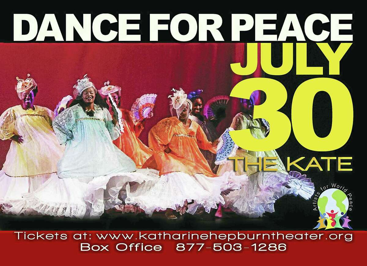 """Middletown's Artists for World Peace will stage """"Dance for Peace"""" at The Kate on July 30."""