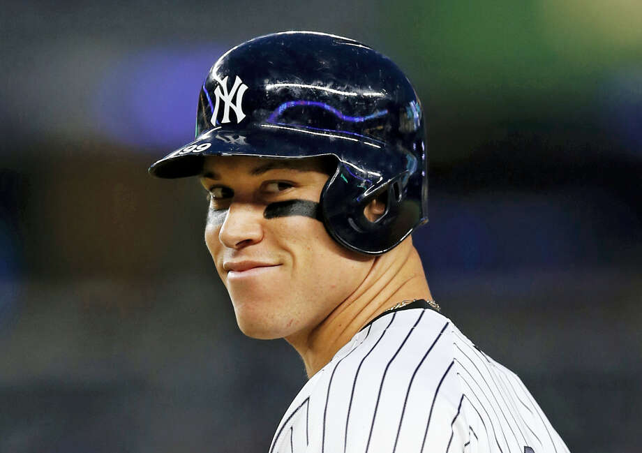This time last year, the Yankees' Aaron Judge had played exactly zero big-league games. The rookie slugger is now an All-Star and MVP hopeful. Photo: The Associated Press File Photo  / Copyright 2017 The Associated Press. All rights reserved.