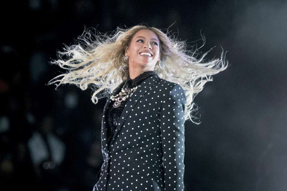Beyonce performing at a Get Out the Vote concert for Democratic presidential candidate Hillary Clinton in Cleveland last year. Photo: Andrew Harnik — AP File Photo  / Copyright 2017 The Associated Press. All rights reserved.