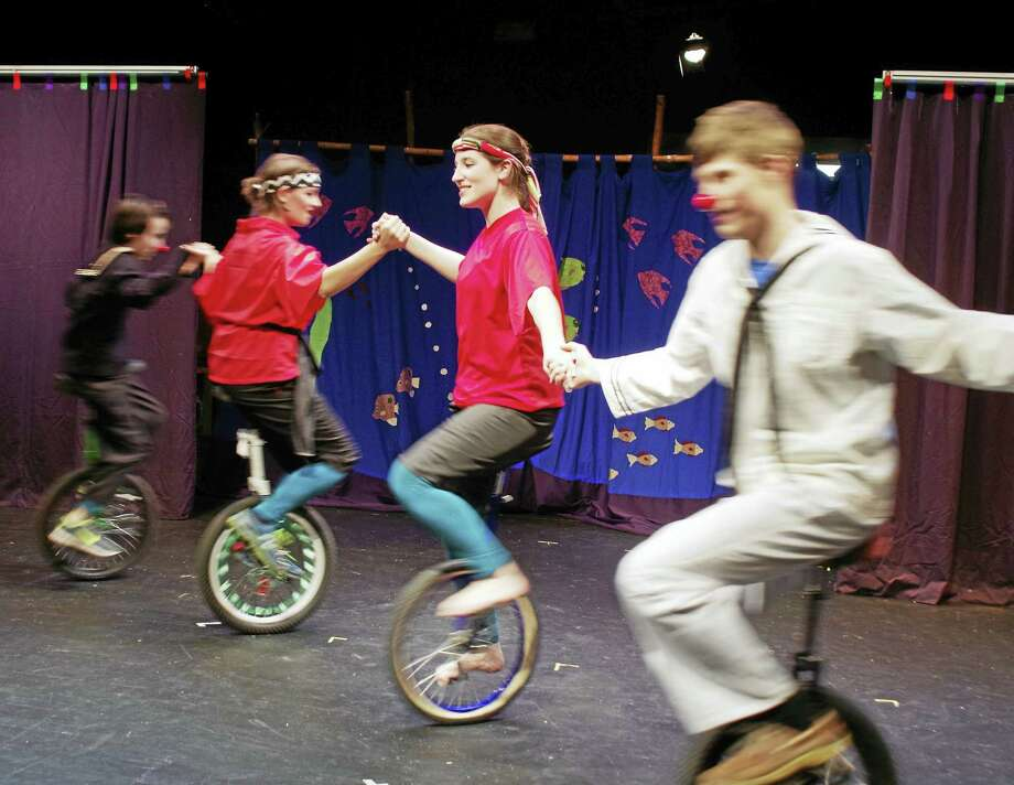 Contributed photoTeen dancers, acrobats, athletes, jugglers and clowns are invited to join the circus this winter, either for weekly Circus Training or as part of an exclusive traveling company at Circophany Youth Circus in Middletown. Photo: Digital First Media