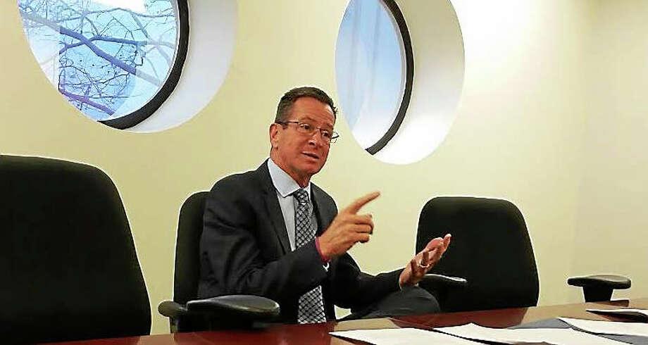 Gov. Dannel P. Malloy Photo: File Photo