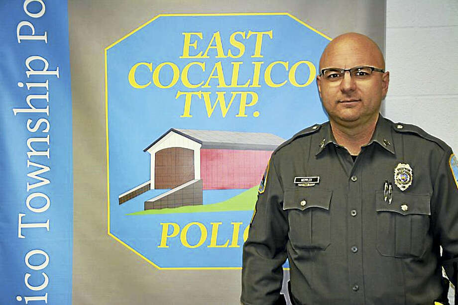 In this photo provided by the East Cocalico Township Police Department, Sgt. Darrick Keppley poses Wednesday, Jan. 11, 2017, in Denver, Pa. On Saturday, Jan. 7, 2017, Keppley drove a surgeon, an assistant and a donated liver about 60 miles to a transplant operation already underway in Philadelphia, after their vehicle skidded off an icy Lancaster County roadway en route from York, Pa. Photo: East Cocalico Township Police Department Via AP