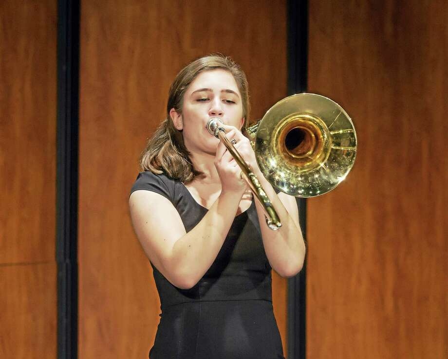 "Trombone soloist Jamie Dydyak will perform during ""Middletown High Goes to the Symphony"" at the Bushnell on May 22. Photo: Photo By Sandy Aldieri"