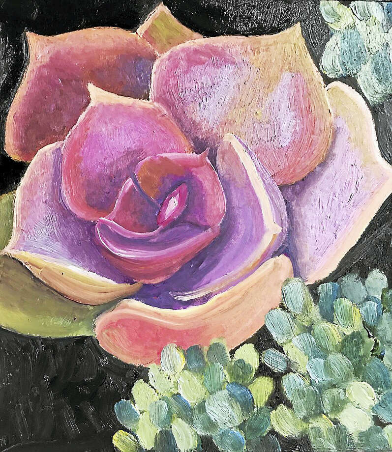 "Cardiello, ""Succulent,"" oil on canvas. Photo: Digital First Media"