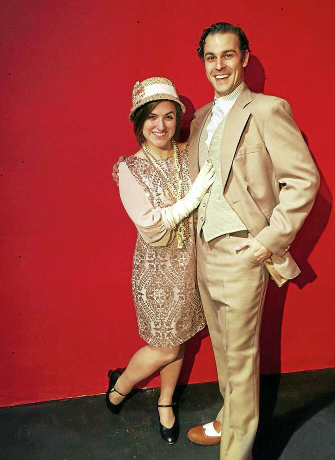 "Jackie DeMaio and Tullio Milani star in ""Thoroughly Modern Millie,"" being presented by the Connecticut Theatre Company at Trinity-on-Main in New Britain. Photo: Contributed Photo"