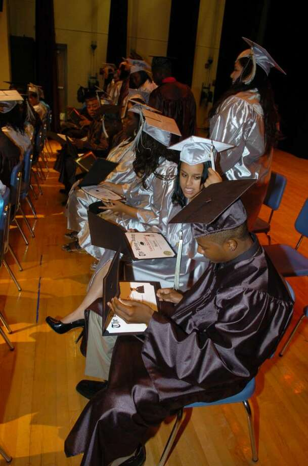 Highlights from Bridge Academy's 13th Annual Commencement Exercises held at Thurgood Marshall Middle School in Bridgeport, Conn. on Wednesday evening June 16, 2010. Photo: Christian Abraham / Connecticut Post