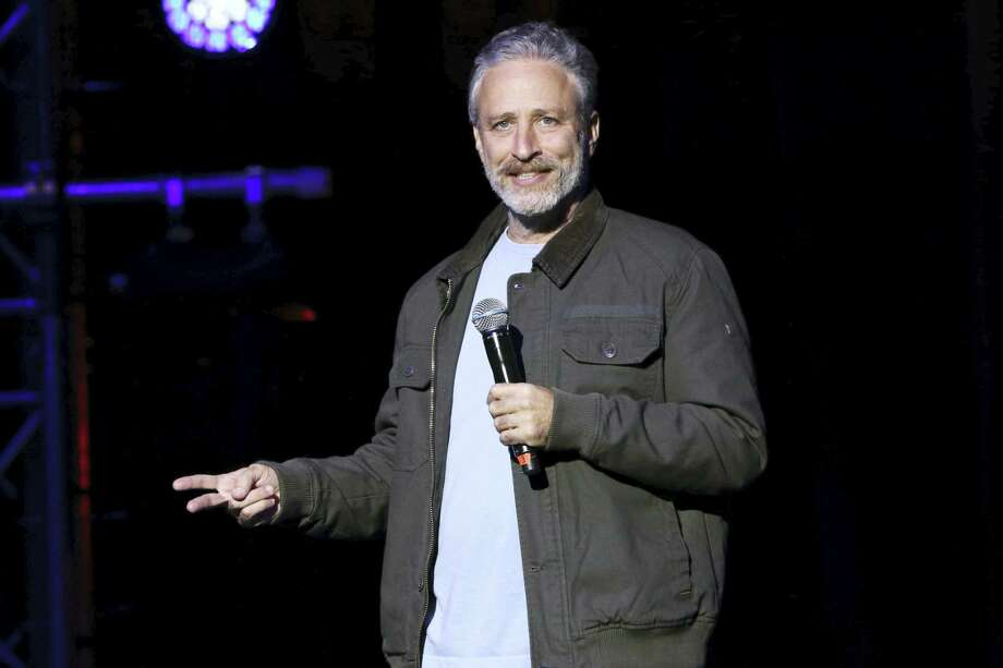 "In this Nov. 10, 2015 photo, comedian Jon Stewart performs at the 9th Annual Stand Up For Heroes event in New York. Stewart appeared dressed as President Donald Trump on CBS' ""Late Show with Stephen Colbert"" on Tuesday, Jan. 31, 2017. Photo: Photo By Greg Allen/Invision/AP, File  / Invision"