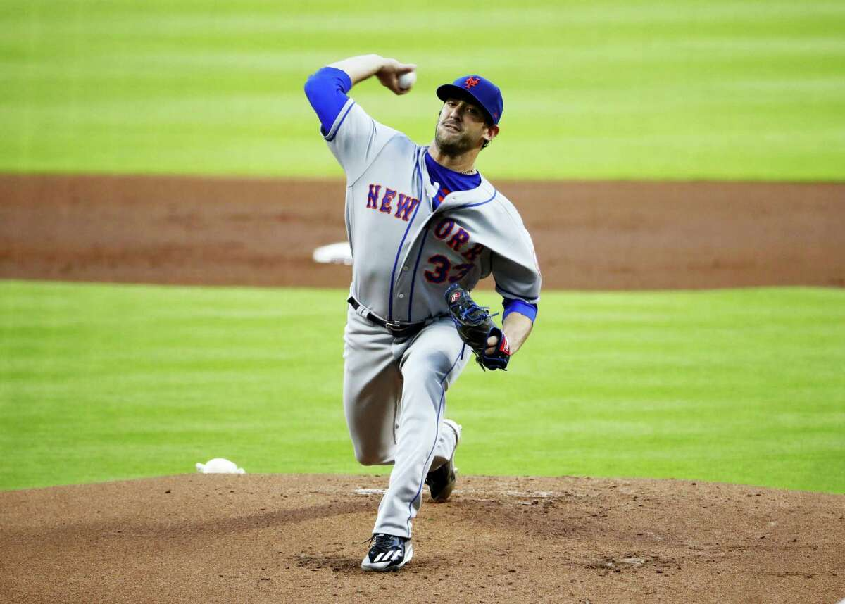 New York Mets starting pitcher Matt Harvey.