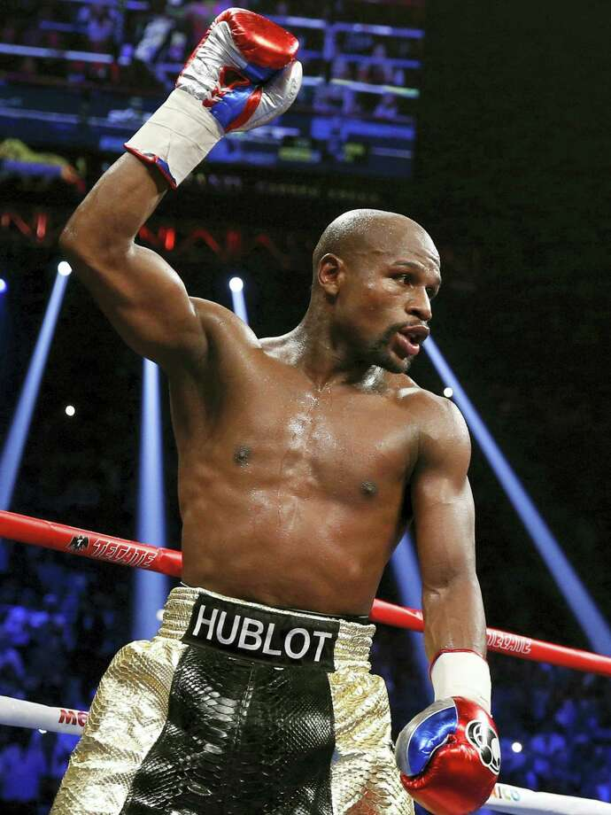 Floyd Mayweather Jr. Photo: The Associated Press File Photo  / Copyright 2017 The Associated Press. All rights reserved.
