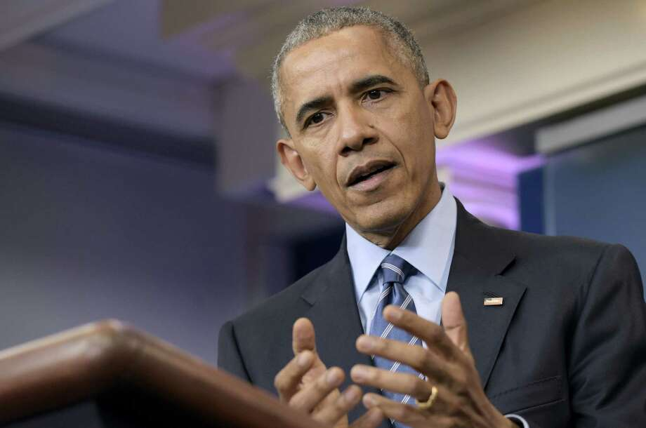 FILE - In this Dec. 16, 2016, file photo, President Barack Obama speaks during a news conference in the briefing room of the White House in Washington. Congressional Republicans intent on repealing Obama's health care law assert that it's already failed and is in a 'death spiral.' But most experts say that despite the law's widely acknowledged problems, the GOP's claims are exaggerated and Obamacare is not currently in a 'death spiral.' Photo: AP Photo/Susan Walsh, File / Copyright 2016 The Associated Press. All rights reserved.