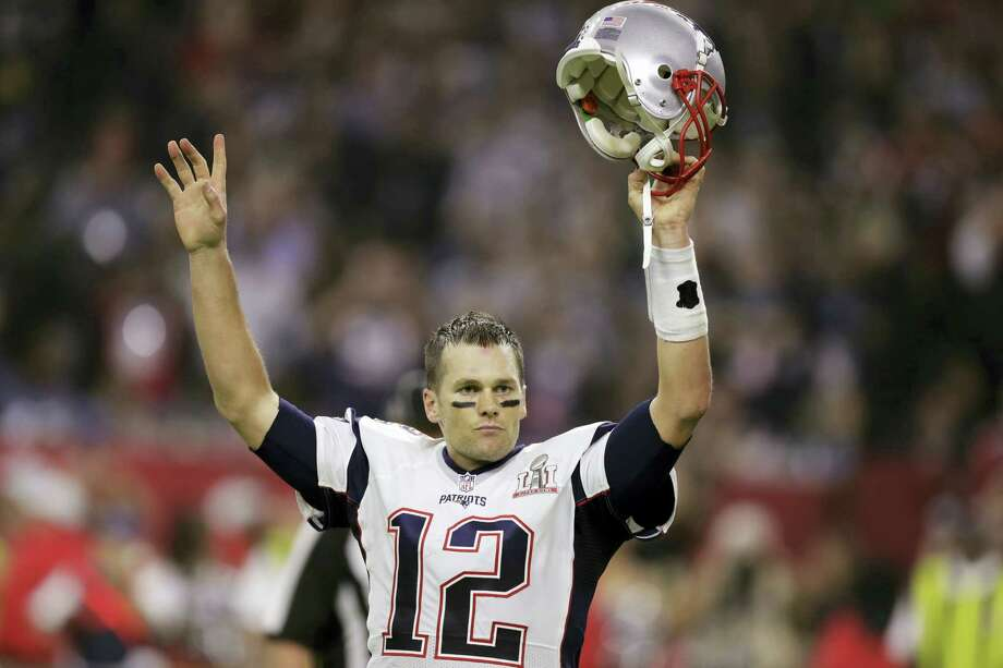 Simon & Schuster announced Thursday that they will publish Tom Brady's debut book in September. Photo: The Associated Press File Photo  / Copyright 2017 The Associated Press. All rights reserved.
