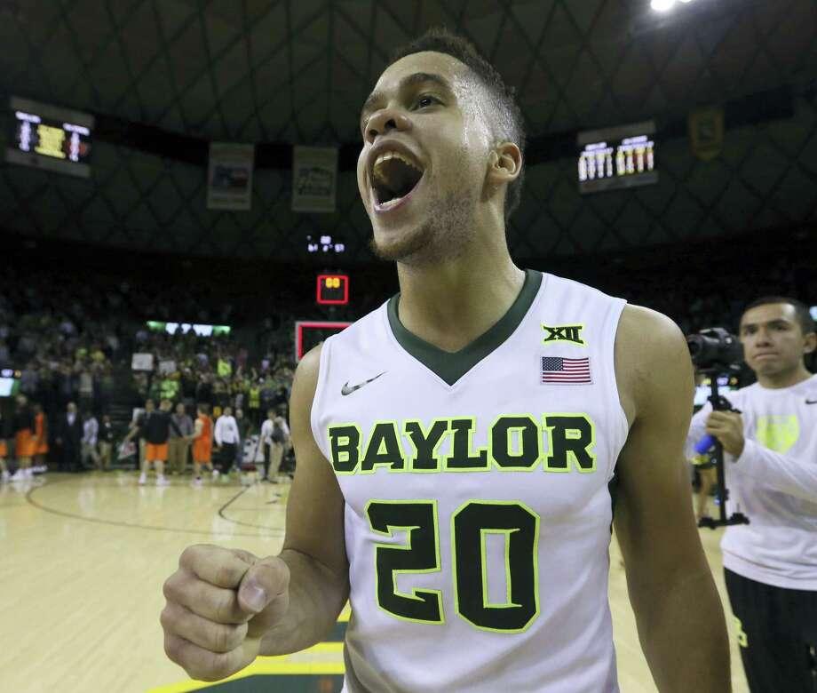 Baylor guard Manu Lecomte. Photo: The Associated Press File Photo  / FRE36102 AP