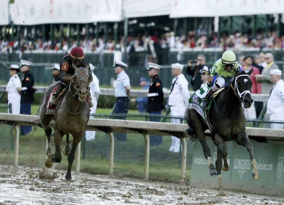 John Velazquez rides Always Dreaming to victory in the 143rd running of the Kentucky Derby at Churchill Downs Saturday in Louisville, Ky. Photo: Garry Jones — The Associated Press  / FR50389 AP
