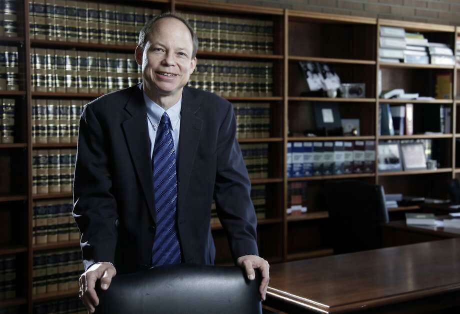 FILE--This June 27, 2011 file photo shows Santa Clara County Superior Court Judge Aaron Persky, who drew criticism for sentencing former Stanford University swimmer Brock Turner to only six months in jail for sexually assaulting an unconscious woman.