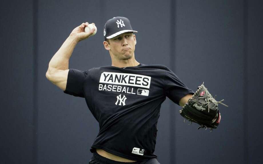 New York Yankees prospect James Kaprielian. Photo: The Associated Press File Photo  / Copyright 2017 The Associated Press. All rights reserved.