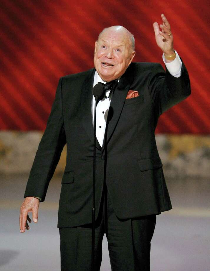 "In this Sept. 21, 2008, file photo, Don Rickles is honored for best individual performance in a variety or music program for ""Mr. Warmth: The Don Rickles Project,"" at the 60th Primetime Emmy Awards in Los Angeles. Rickles, the hollering, bald-headed ""Merchant of Venom"" whose barrage of barbs upon the meek and the mighty endeared him to audiences and his peers for decades died, Thursday, April 6, 2017 at his home in Los Angeles. He was 90. Photo: AP Photo/Mark J. Terrill, File   / AP2008"