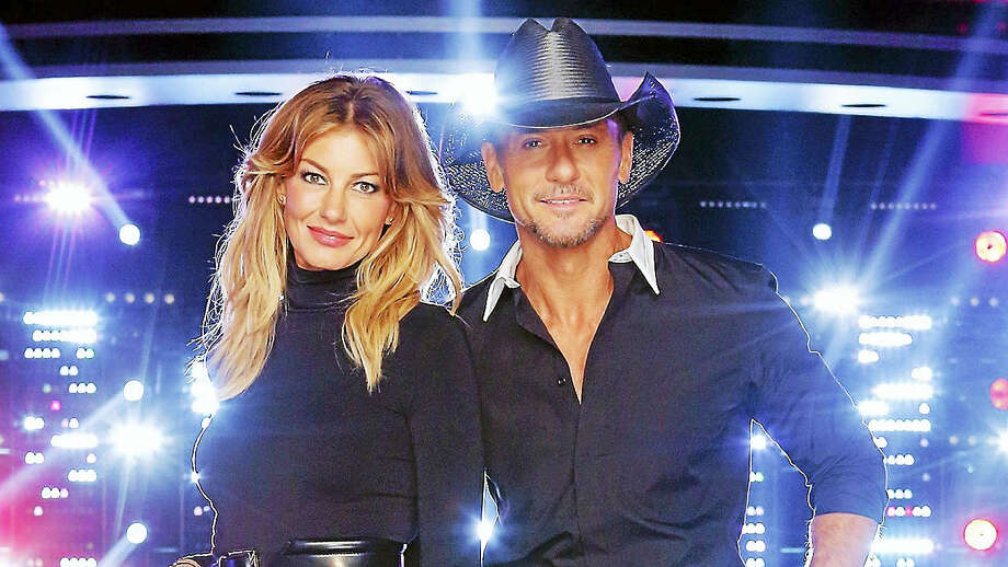"Contributed photo The husband and wife team of Faith Hill and Tim McGraw will perform ""live"" in concert at the Mohegan Sun Arena in Uncasville on Saturday night May 6th. For tickets or more information, call 888-226-7711 or visit www.mohegansun.com Photo: Digital First Media / 2016 NBCUniversal Media, LLC"