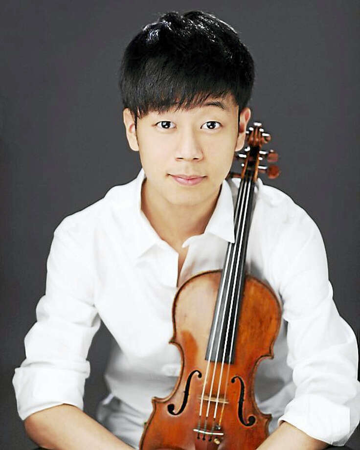 Contributed photoViolinist Hahnsol Kim Photo: Digital First Media