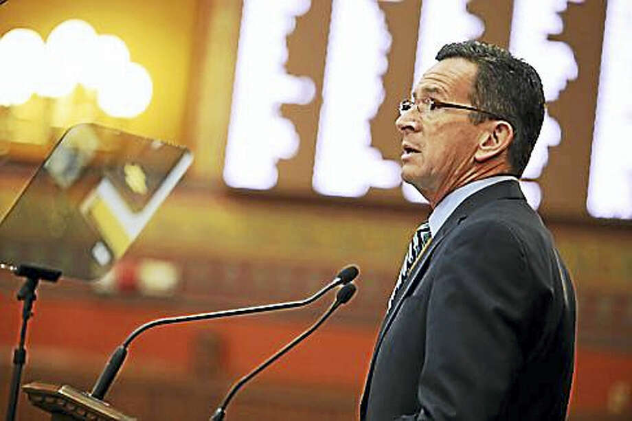 Gov. Dannel P. Malloy Photo: Christine Stuart Photo