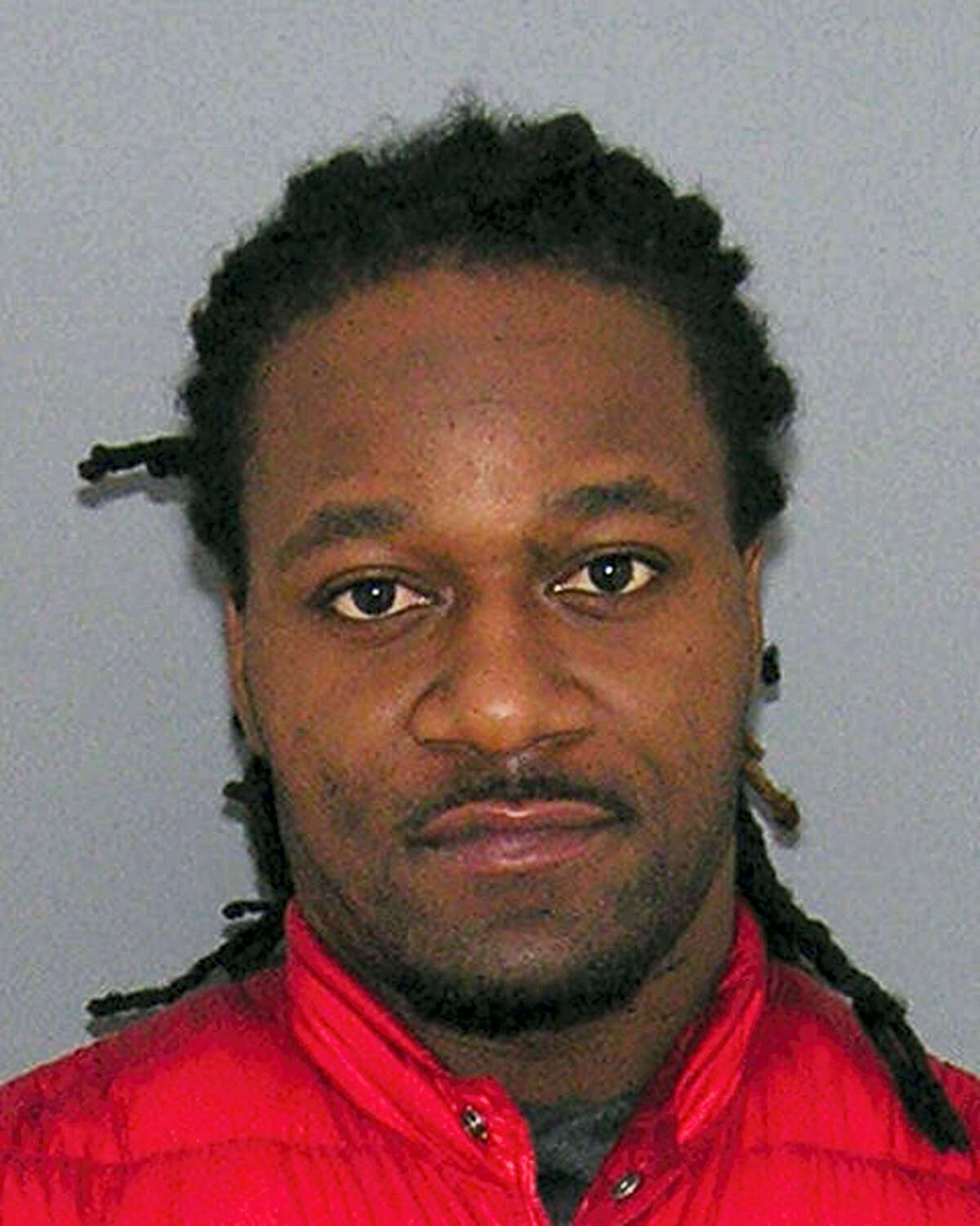 """This Jan. 3, 2017 photo provided by the Hamilton County Jail shows Cincinnati Bengals cornerback Adam """"Pacman"""" Jones, who is facing assault, disorderly conduct and other charges after being arrested in Cincinnati's downtown entertainment district."""