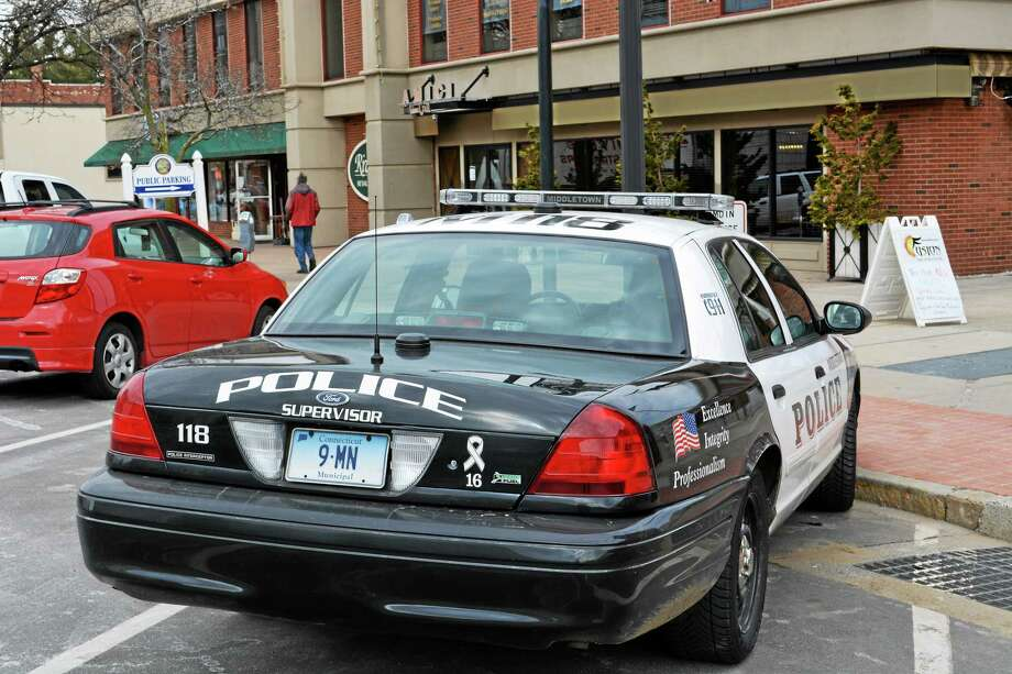 A Middletown police cruiser Photo: Middletown Press File Photo