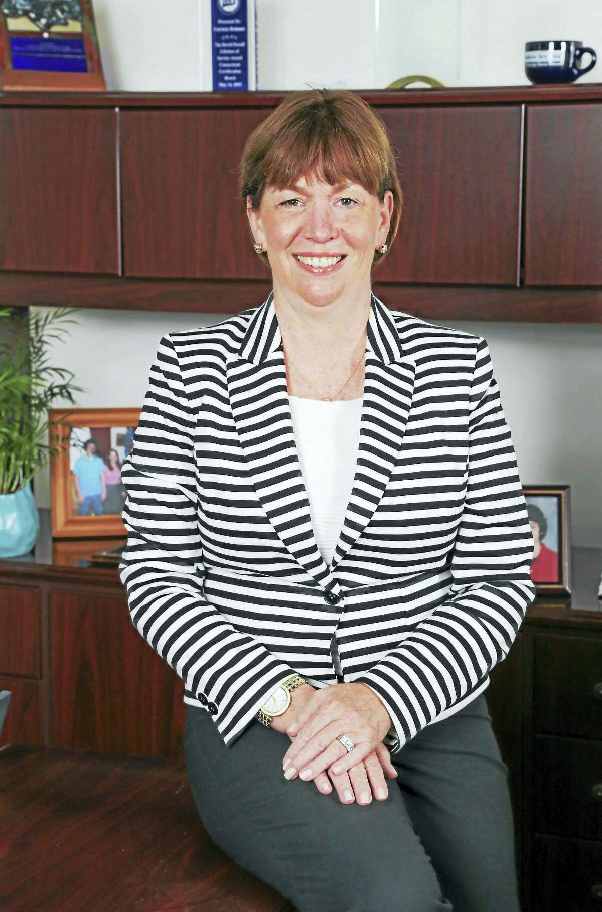 Patricia Rehmer, senior vice president at Hartford HealthCare and president of the Behavioral Health Network.Conn. Health I-Team