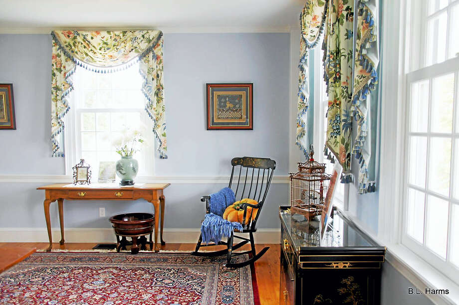 Barbara Harms photo  The interior design pays homage to the old Federal's past. Photo: Digital First Media