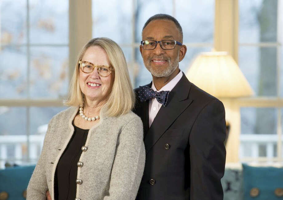 Janet Flagg and Wayne S. Rawlins of Cromwell were honored with the United Way of Central and Northeastern Connecticut Community Service Award recently. Photo: Contributed Photo
