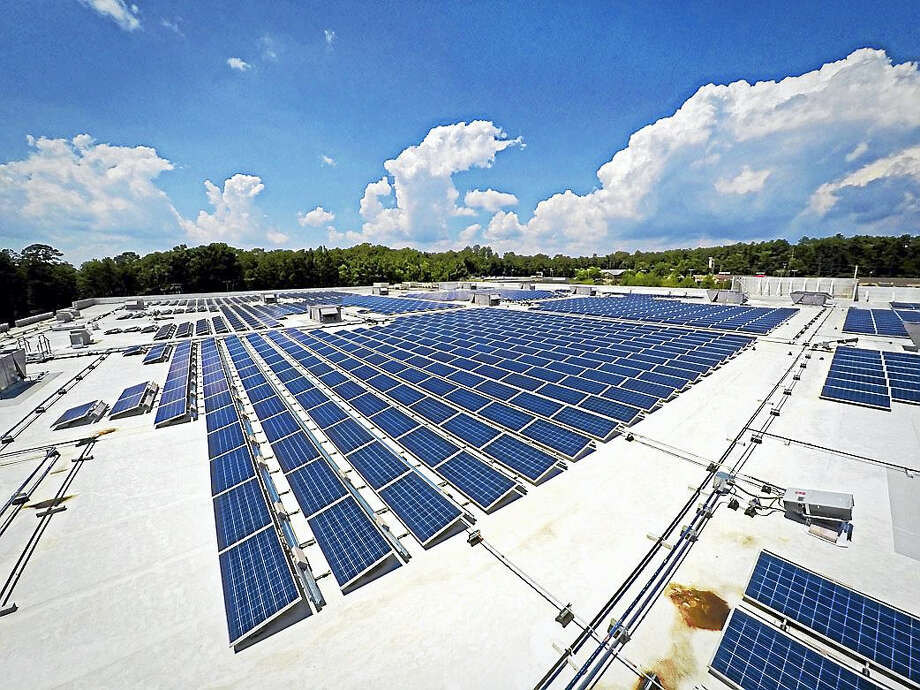 Greenskies of Middletown installed these solar arrays on the Columbia Garners Ferry Target store in South Carolina. Photo: Courtesy Greenskies
