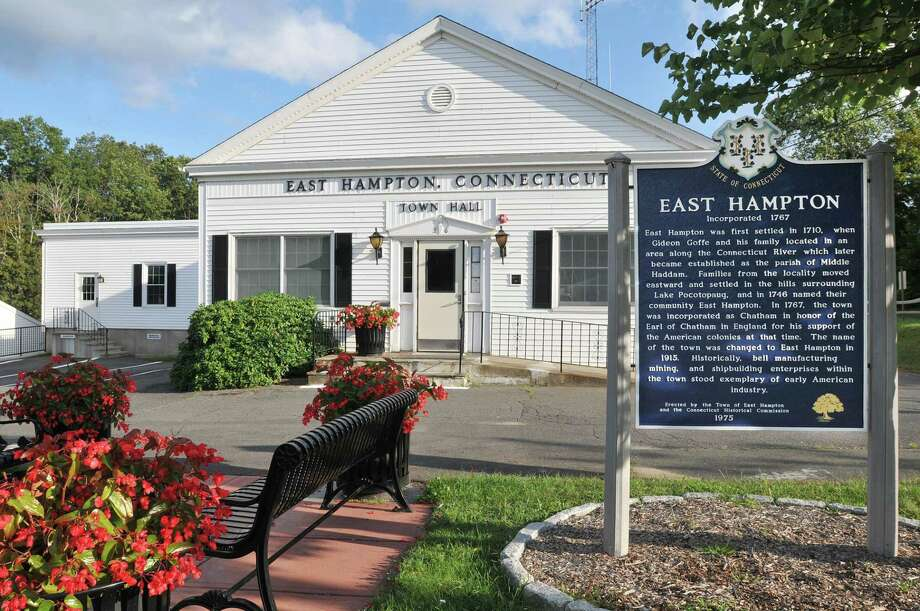 East Hampton Town Hall. Catherine Avalone - The Middletown Press Photo: File Photo / TheMiddletownPress