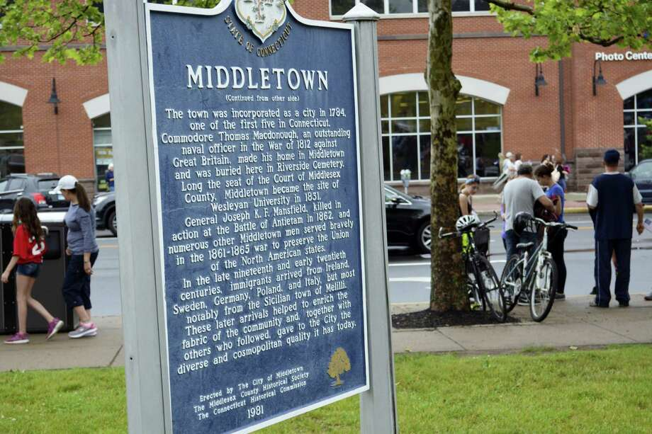 Cassandra Day - The Middletown Press City of Middletown sign South Green logo Photo: File Photo