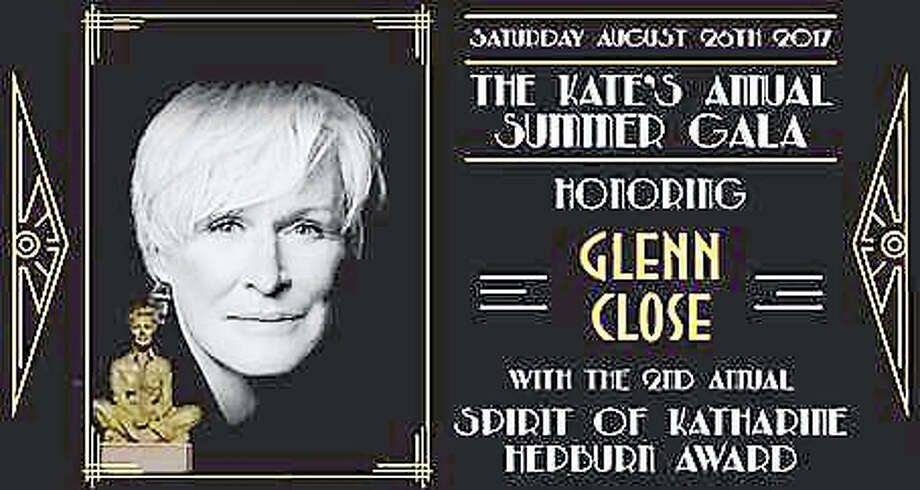 Glenn Close will received the Spirit of Katharine Hepburn Award at the Kathering Hepburn Cultural Arts Center's annual gala in August. Photo: Contributed Photo